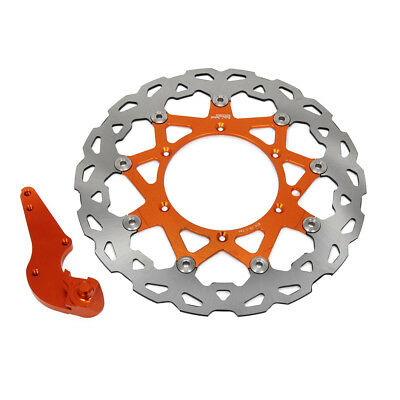 Motorcycle 320mm Floating Front Brake Disc Rotor Bracket For KTM SX SXF EXC XCW