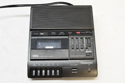 Panasonic RR-830 Standard Cassette Transcriber Dictaphone Recorder - GUARANTEED!