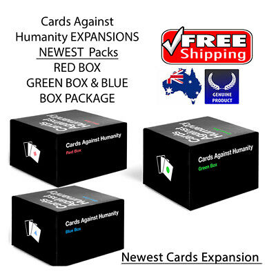 cards against humanity red blue green 1-6 expansions