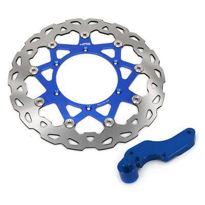 320mm Floating Front Brake Disc Rotor Bracket For Yamaha WR250F YZ250F WR400F