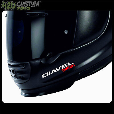 DUCATI DIAVEL HELMET KIT Decal Sticker Detail-Best Quality-Many Colours