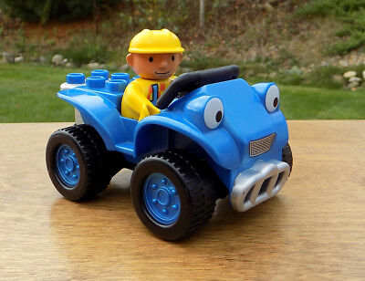 Bob the Builder Lego DUPLO SCRAMBLER ATV Quadbike car Toy & Lego Bob Builder