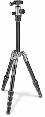"""Prima Photo Small Travel Kit 55.1"""" Tripod with Ball Head carrying pouch Silver"""