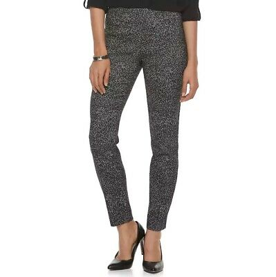 df93e3437ea07 NWT Women s Apt. 9 Brynn Pull-On Mid Rise Skinny Dress Pants FREE FAST