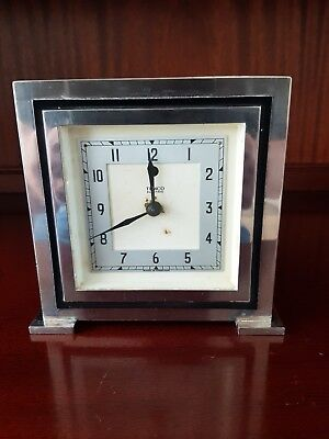 vintage art deco TEMCO Electric clock in good working order