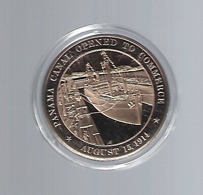 Panama Canal Zone  medal 45 mm