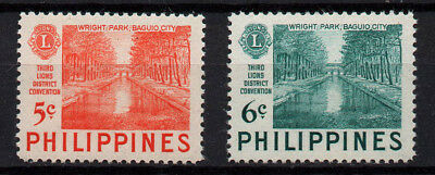 Philippines, Scott # 582-583, Set Of 2 Wright Park, Baguio City, Year 1952 Mnh