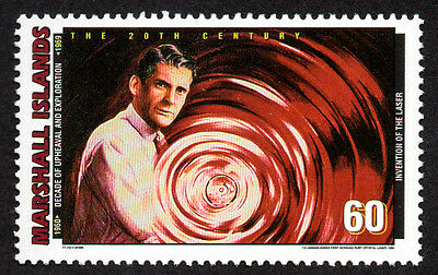 Marshall Islands, Scott # 711-A, Technology, Invention Of The Laser, Mnh