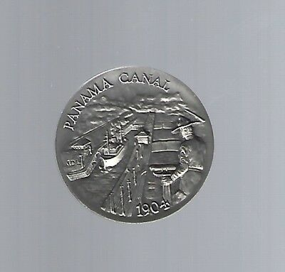 Panama Canal Medal 40mm longines