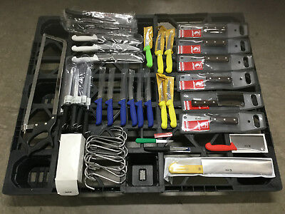 Meat Processing & Cutlery Wholesale Liquidation Lot - Jero, Mundial, F Dick