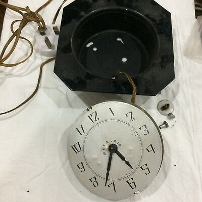 Vintage 1930s electric clock for spares