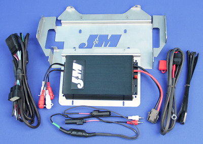 J&M Audio 400 Watt 4 Channel Amp Kit for 2014 & Up Harley-Davidson Ultra Classic
