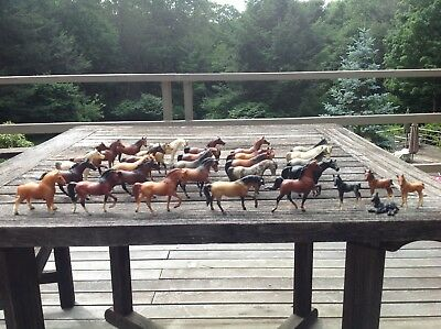 Lot of 31 vintage breyer stablemates horses 1975 1976 immacuLate condition