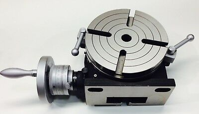 """8"""" Vertex Horizontal and Vertical Rotary Table: 5 YEAR WARRANTY FREE SHIPPING!"""