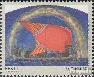 Estonia 678 (complete.issue.) unmounted mint / never hinged 2010 Paintings