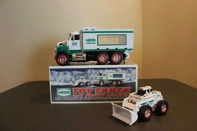 2008 Hess Toy Truck and Front Loader - Great Condition!