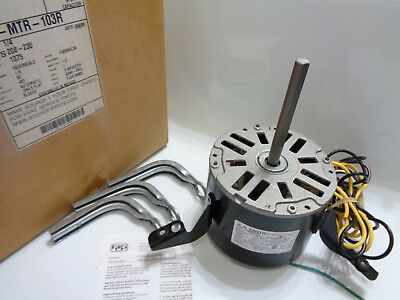 AO Smith  S1-MTR-103R 1/4 HP, 1075 RPM, 208-230V Blower Motor F48M84C34, NEW