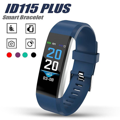 Smart Watch ID115 Sports Bracelet Fitness Activity Tracker Android iOS iPhone