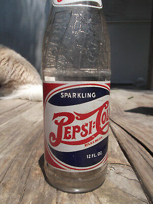 Vintage DOUBLE Dot Pepsi Cola Bottle  Spartanburg, S C   12 Fl. Oz. 1946