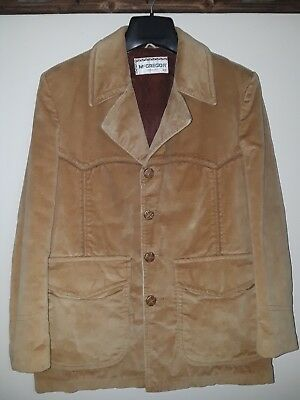 1960's-70's McGregor Corduroy Western-Style Blazer.Size is 42 MADE IN THE U.S.A.
