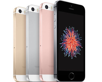 Apple iPhone SE Silver Space Gray Gold Rose Gold 16GB 32GB 64GB AT&T or UNLOCKED