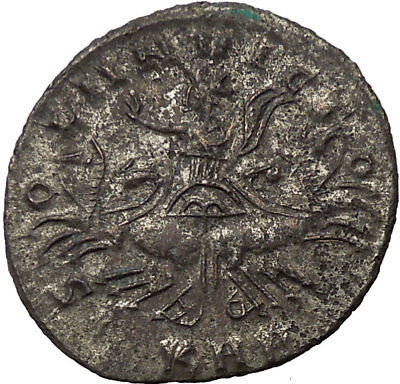 PROBUS 280AD Authentic Ancient  Ancient Roman Coin SOL SUN GOD in CHARIOT i14652