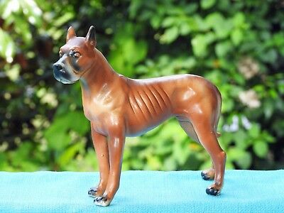 Vintage Kreiss Fawn Great Dane Figurine - Nice! No Reserve!