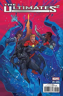 Ultimates 2 NOW #1 Christian Ward 1:25 Variant Cover (Marvel, 2016) NEW