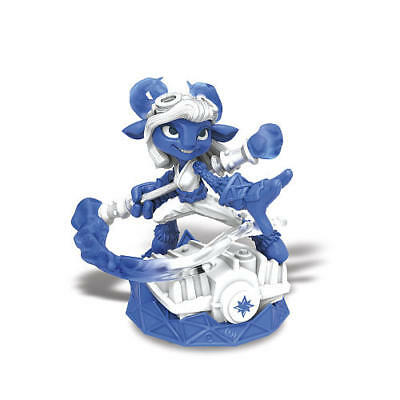 Power Blue Splat Skylanders Superchargers WiiU Wii Xbox PS3 PS4 Universal Figure