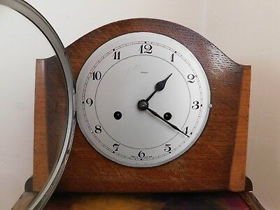 Enfield Art Deco Mantel Clock Full Working