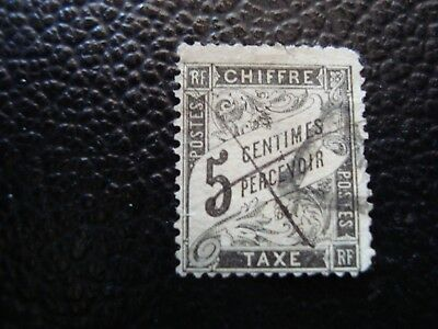 FRANCE - stamp yvert/tellier tax n° 14 cancelled (A12)