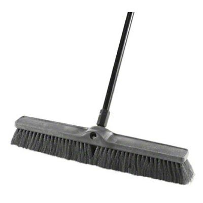 "Blast Crap Faster? Rubbermaid 1861211 24"" Multi Surface Medium Sweep Push Broom"