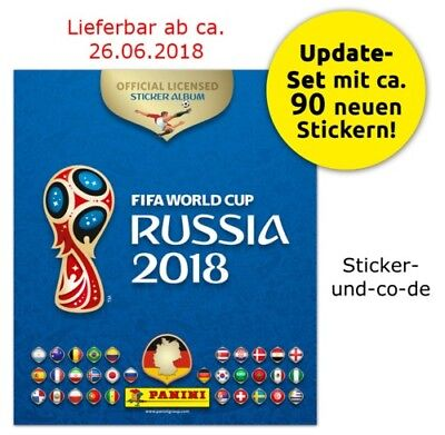 Panini WM 2018 Russia 18 Sticker