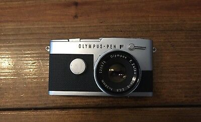 Olympus Pen FT 35mm SLR Film Camera with 38 mm f/1.8 / Recently CLA'd