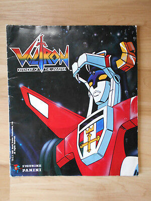 Voltron Defender of the Universe 1984 Used Sticker Book    FREE SHIP