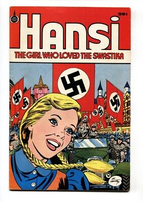 Hansi, The Girl Who Loved The Swastika  1976-Hitler-Hartley Wwii-39¢-Fn+