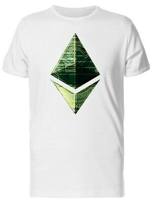 Ethereum Cryptocurrency Art Men's Tee -Image by Shutterstock