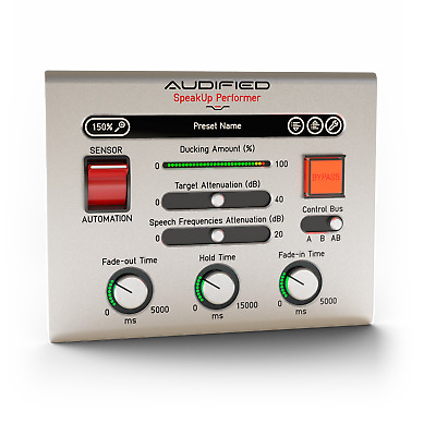 New Audified Speakup! Plug-in Suite - Recording Voice Overs Easier Mac PC AU VST