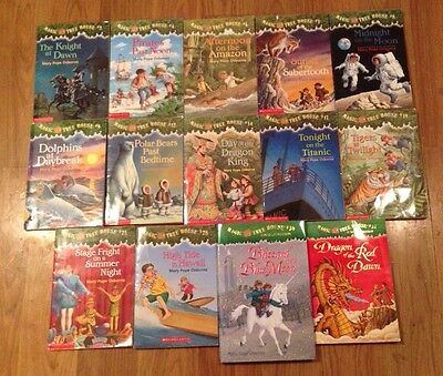 Magic Tree House books by Mary Pope Osborne - lot of 14