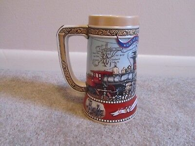 Miller High Life Great American Achievements Beer Stein 1988