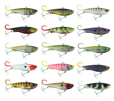 110mm Zerek Fish Trap Soft Vibe Sinking Crankbait Fishing Lure