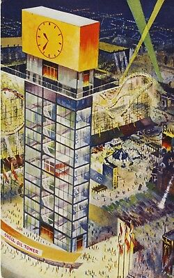 Shell Oil Tower CNE ON Ontario Canadian National Exhibition Vintage Postcard D23