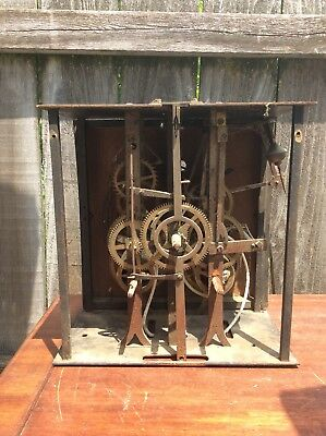 French Morbier Tall Case Clock Movement, Parts / Repairs