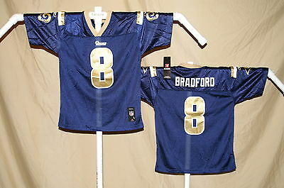 b4f19341 SAM BRADFORD ST. LOUIS (now Los Angeles) RAMS Reebok JERSEY Youth ...