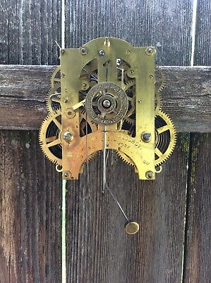 Ansonia Kitchen Clock Movement with Alarm Feature, Parts / Repairs