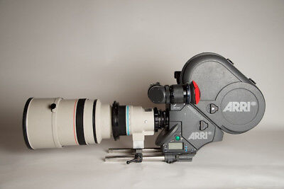 Canon 400mm FD 2.8 telephoto lens (manual focus) PL motion picture mount