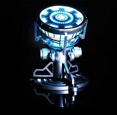 ARC Reactor Prop Replica LED Light Remote Control Toy Legend 1:1 Iron Man Tony A