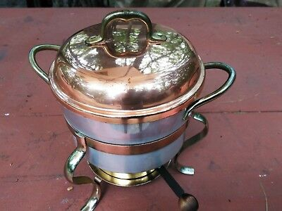 small chafing dish with burner