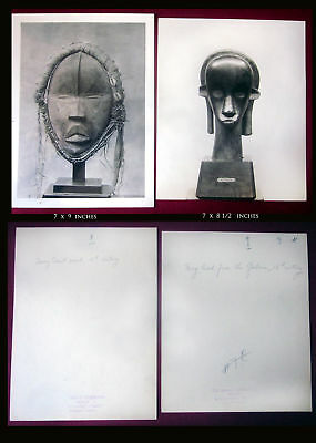 1926 African Negro Art Original Barnes Foundation Photo Collection