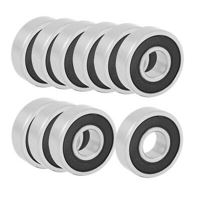 10Pcs 6000RS Shielded Deep Groove Radial Ball Bearings 10mmx26mmx8mm O1M8